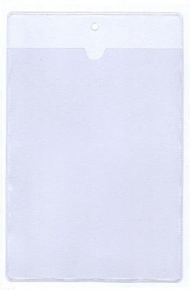 Πλαστική θήκη για καρτέλα 23x15cm. code 050
