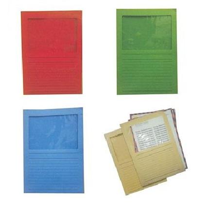 Ντοσιέ τύπου Γ, χάρτινο. Με παράθυρο από διάφανο πλαστικό. 09957