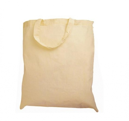 Τσάντα πάνινη οικολογική Βαμβακερή με κοντό χερούλι -15724