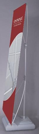 Banner μονής όψης με βάση νερού. DS-12B