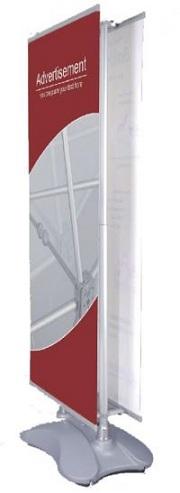 Banner Διπλής όψης με βάση νερού DS-W7