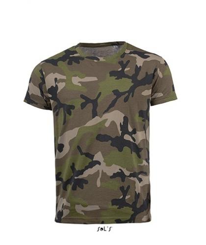 Ανδρικό T-shirt Παραλλαγής Sol's -01188