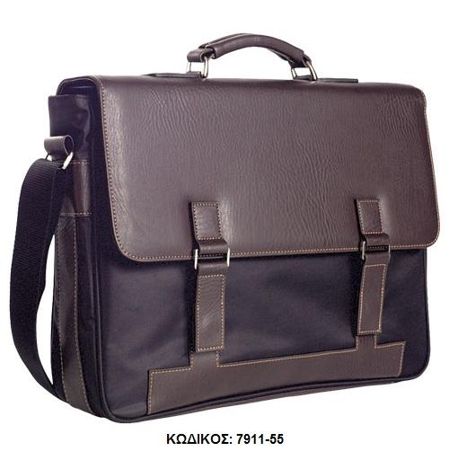 Τσάντα χειρός και κρεμαστή Δερματίνη 7911-55