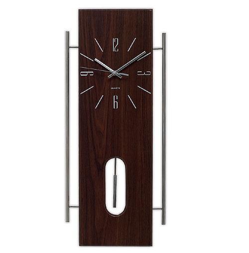 Ξύλινο Ρολόι Τοίχου με εκκρεμές