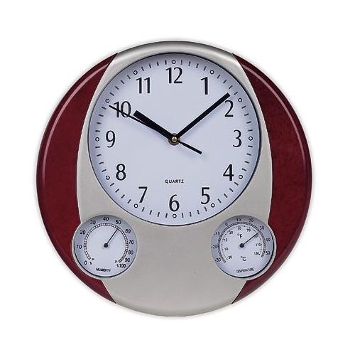 Ρολόι τοίχου, Θερμόμετρο, Υγρόμετρο