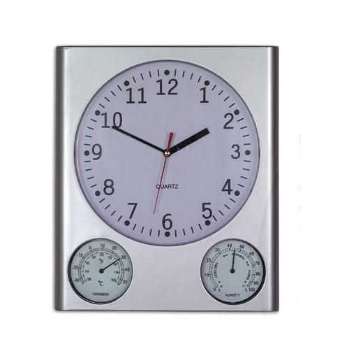 Ρολόι τοίχου, υγρόμετρο, θερμόμετρο