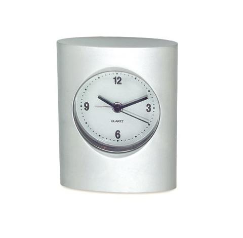 Επιτραπέζιο Μεταλλικό Ρολόι.