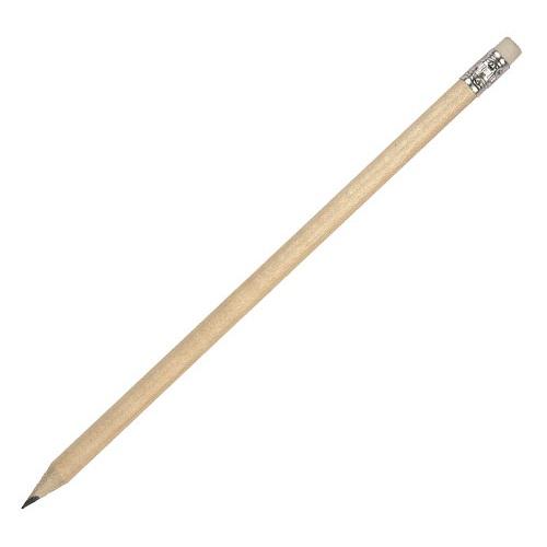 Μολύβι ξύλινο με σβύστρα. 1287-101