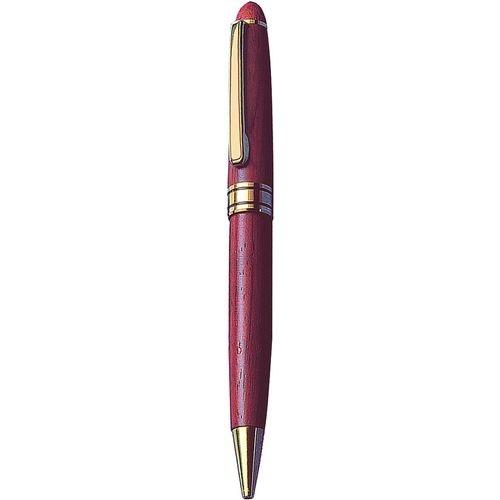 Στυλό ξύλινο με χρυσό κλιπ. 813-99
