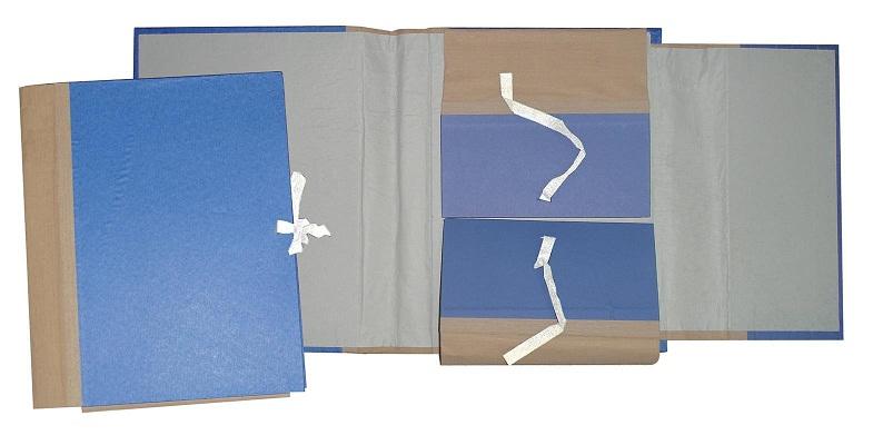 Φάκελος με κορδόνι με ετικέτα & bar code. 03265