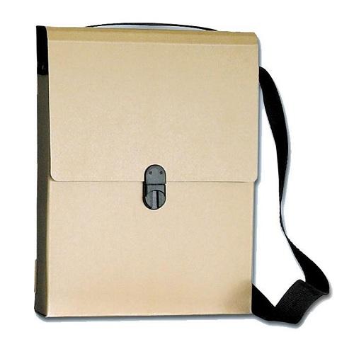 Τσάντα συνεδρίων οικολογική με ιμάντα και χερούλι 03156