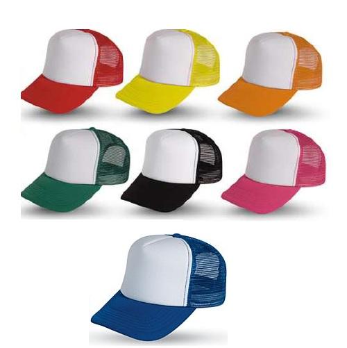 Καπέλο με δίχτυ τύπου TRUCKER. 2580-M