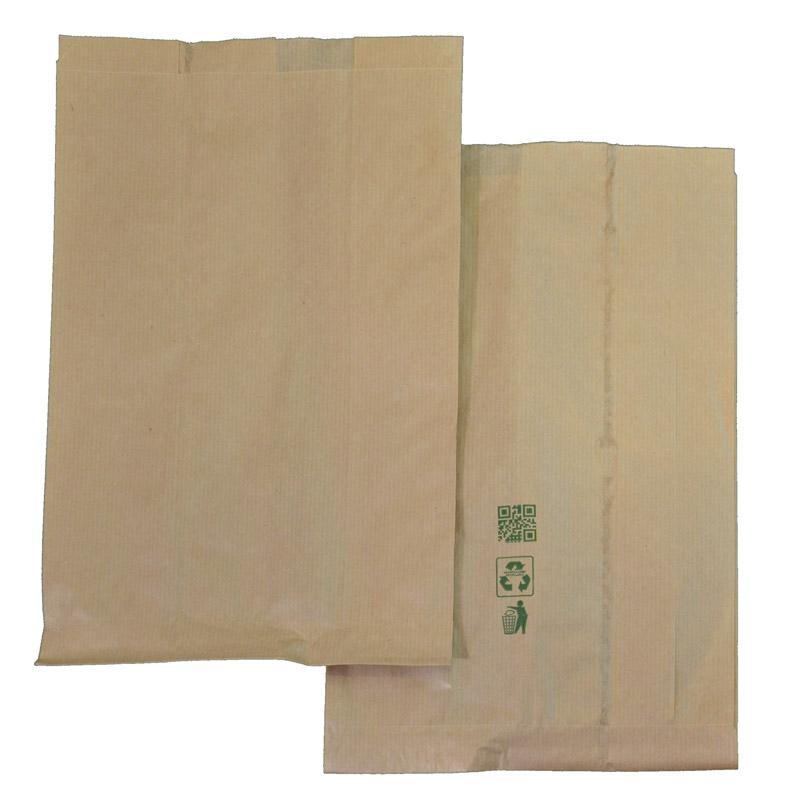 Χάρτινες σακούλες τροφίμων 20x34cm, με εκτύπωση. 441-19