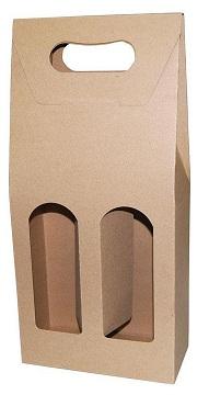 Κουτί κρασιού οικολογικό, για 2 μπουκάλια. 23373