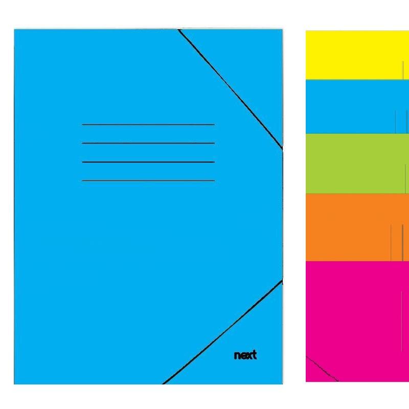 Φάκελος με λάστιχο, σε 5 χρώματα. 03208