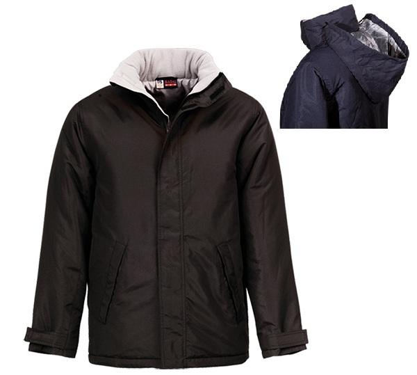 Γυναικείο μπουφάν, Αδιάβροχο με επένδυση. 2845-M-black