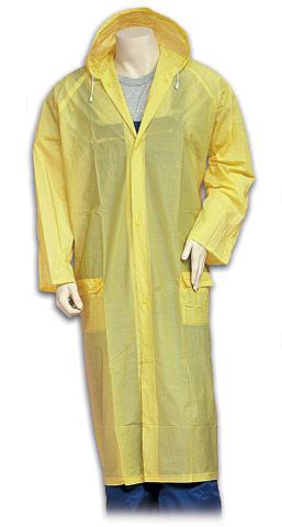 Αδιάβροχο πλαστικό με κουκούλα. 1104-T