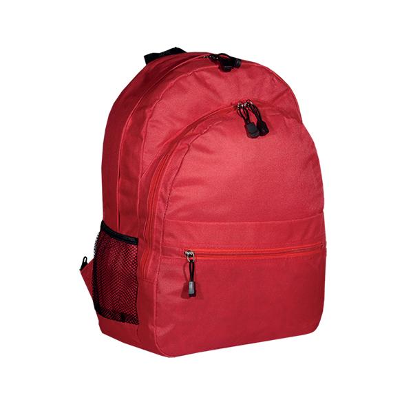 Σχολική Τσάντα τύπου POLO. 2315red-M