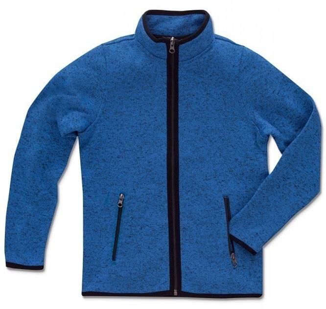 Παιδική ζακέτα φλις. ST5970-blue