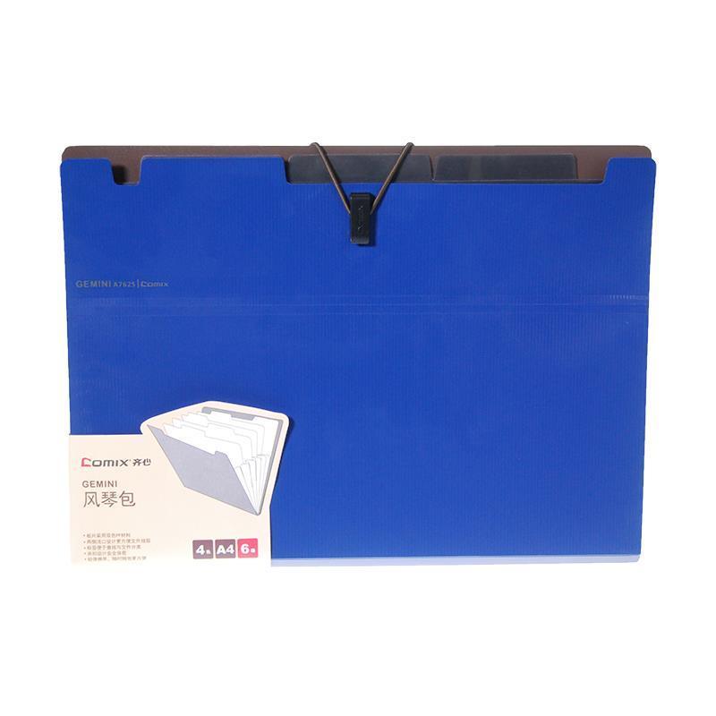 Αρχειοθήκη 6 θέσεων Α4 Comix μπλε. 17491-03