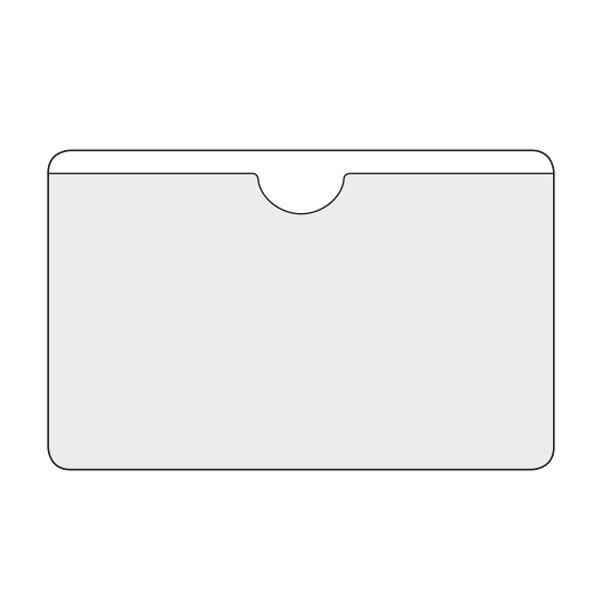 Αυτοκόλλητες θήκες για κάρτες Υ9.5x6εκ. 21833