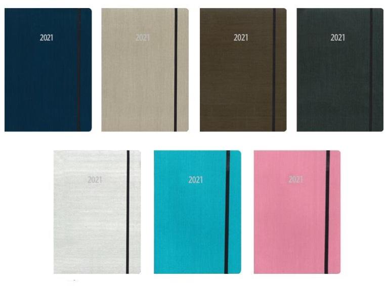Ημερήσιο ημερολόγιο 8x12cm γυρνάει 360 μοίρες.02390
