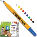 Centropen μαρκαδόροι decor pen 8+1 χρώματα. 29544