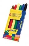 Molin μαρκαδόροι ζωγραφικής jumbo 6 χρώματα. 29839