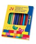 Molin μαρκαδόροι ζωγραφικής με λεπτή μύτη 24 χρώματα. 29838
