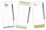 Shopping list με μαγνήτη & θήκη με στυλό. 01021