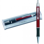 Στυλό STATUS Manhattan μεταλλικό σε διαφανές κουτί. 390-94