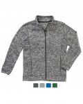 Ζακέτα Fleece Ανδρική με φερμουάρ. ST5850-Μ