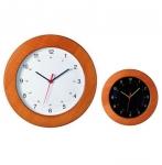 Ρολόι τοίχου ξύλινο Καρυδιά