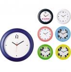 Ρολόι τοίχου πλαστικό με δυνατότητα αλλαγής καντράν