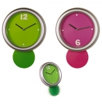 Ρολόι Τοίχου πλαστικό εκρεμμές