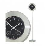 Ρολόι δαπέδου μεταλλικό INOX