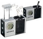Επιτραπέζιο ψηφιακό ρολόι, με ξυπνητήρι, ημερολόγιο, θερμόμετρο,