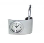 Επιτραπέζιο Μεταλλικό Ρολόι με Μολυβοστάτη