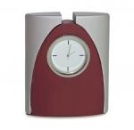 Επιτραπέζιο Ρολόι ξύλο, μέταλλο. 121-Τ
