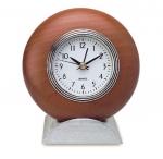 Επιτραπέζιο Ρολόι μέταλλο, ξύλο