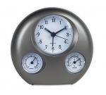 Επιτραπέζιο ρολόι ξυπνητήρι, Θερμόμετρο, Υγρόμετρο, 5839