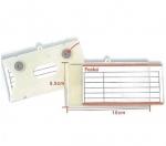 Καρτελάκι Τιμών, Μαγνητικό για Ράφια. 10586