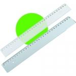 Χάρακας πλαστικός ημιδιαφανές 30 εκ. 1290-86