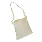 Τσάντα βαμβακερή με πολύ μακρύ χερούλι -22247