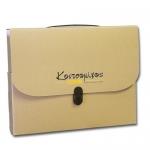 Τσάντα συνεδρίων οικολογική με κούμπωμα -03150