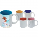 Κούπα χρωματιστή 11oz με χημική επίστρωση 2861-144-Μ