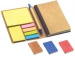 Σημειωματάριο σε θήκη, Σετ σημειώσεων και στυλό 22254