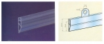 Πηχάκια για πόστερ από pvc σε 2 διαστάσεις (10τεμ.) & 10 κλιπ. 1