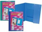 Φάκελος παρουσίασης με λάστιχο & διαφάνεια στο εξώφυλλο  24601
