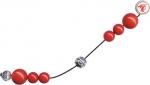 Μπεγλέρι με κόκκινες χάντρες. 863-129